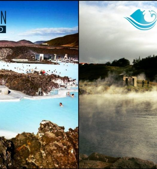 secret lagoon or blue lagoon