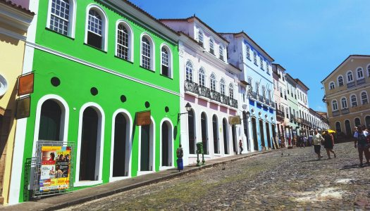 Why should you go to Salvador de Bahia in Brazil ?