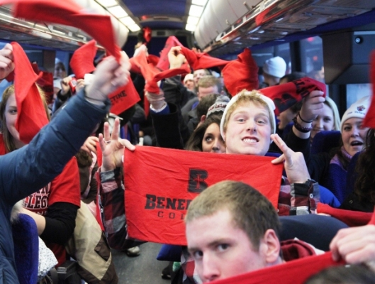 Benedictine College takes the metro to the March for Life