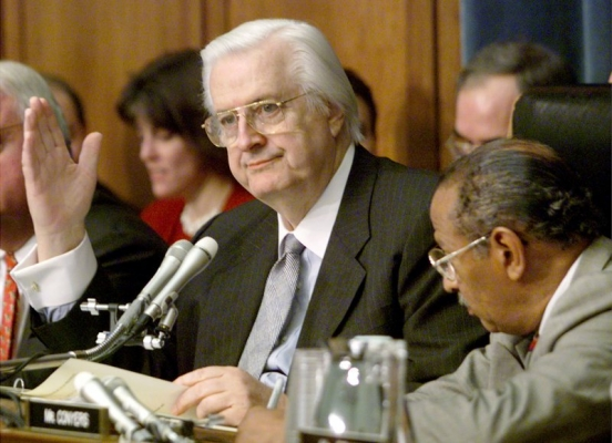 """Henry Hyde (1924-2007), Congressman, was """"the most consequential Catholic legislator of his time,"""" writes George Weigel, loved by members of both parties. His pro-life Hyde Amendment probably saved 1 million lives."""