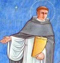 Aquinas from Benedictine College's Great Catholics Mural.