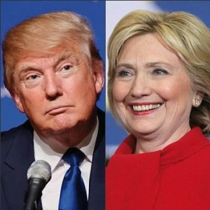 Modified from Wikimedia Commons https://commons.wikimedia.org/wiki/File:Trump_%26_Clinton.jpg