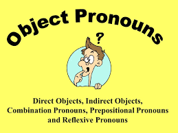direct object pronoun