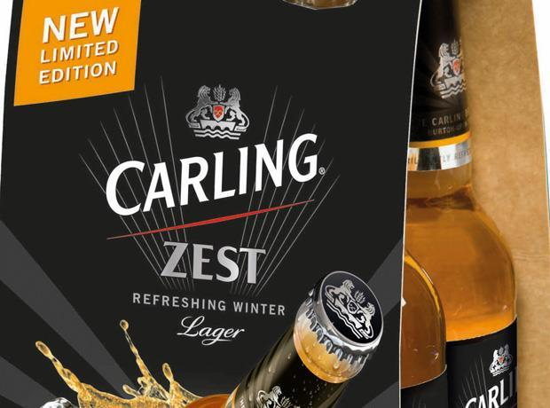 Carling Zest gets spicy winter limited edition