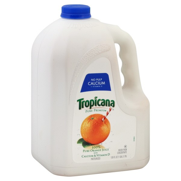 Tropicana Pure Premium 100 Pure Orange Juice with Calcium