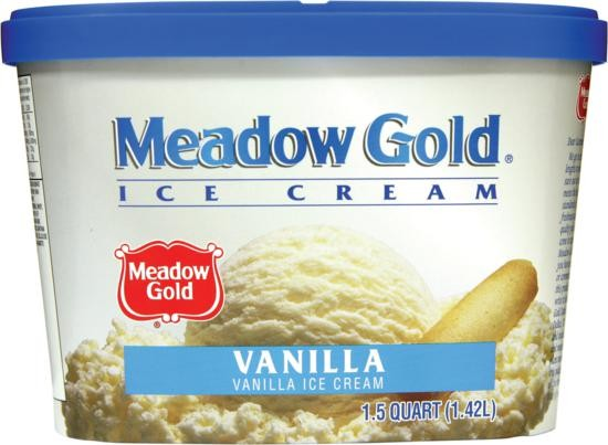 Meadow Gold Ice Cream - Vanilla