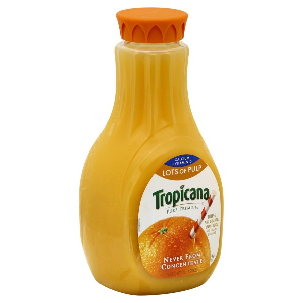 Tropicana Pure Premium 100 Pure Orange Juice Calcium Lots