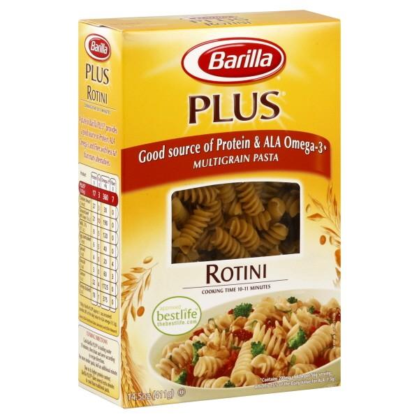 Barilla PLUS Pasta Rotini Multigrain