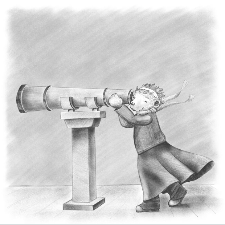 Illustrating Haven: Ember and the Telescope - thegrowlybooks.com