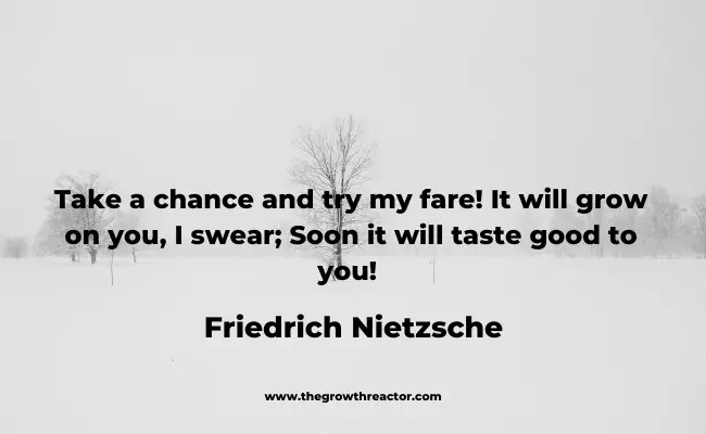 taking a chance quote