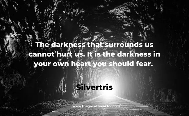 quotes on darkness