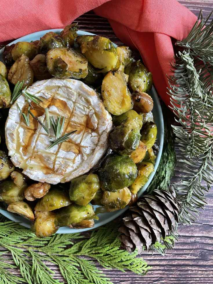 Brussel Sprouts Wreath