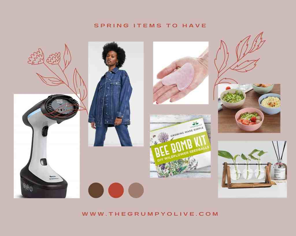 items to try this spring