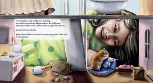 Interior Art from Jeannie Houdini, A Hamster Tale