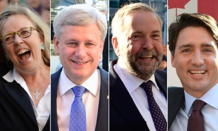 #LIVEBLOG: It's election time Canada, so get out and vote! #CanadaVotes