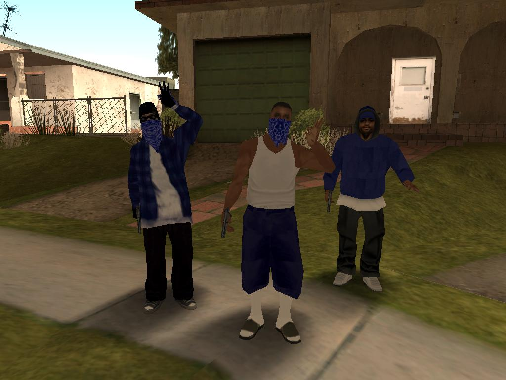 Grand Theft Auto Wallpaper Girl The Gta Place Crips Homies