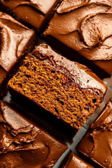 sliced vegan chocolate cake
