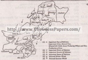 Com.Geography (general group) Solved Past Paper 10th Class