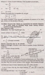 Physics Solved Past Paper 2nd year 2014 Karachi Board