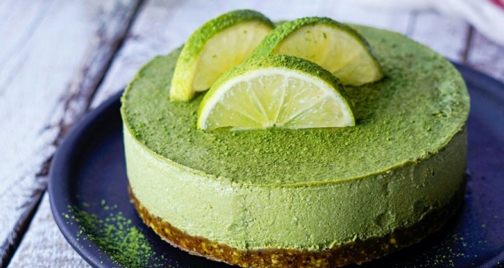 Macha Cheesecake