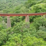 Rail Bridge near Jogmandi Waterfall