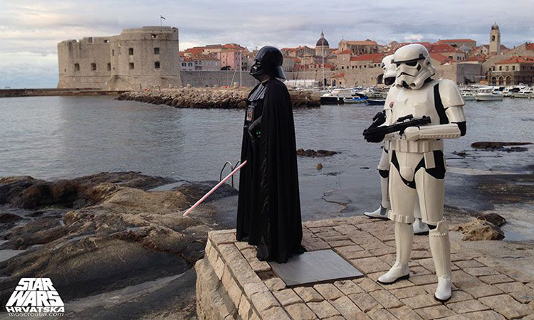 Star Wars in Dubrovnik, Croatia