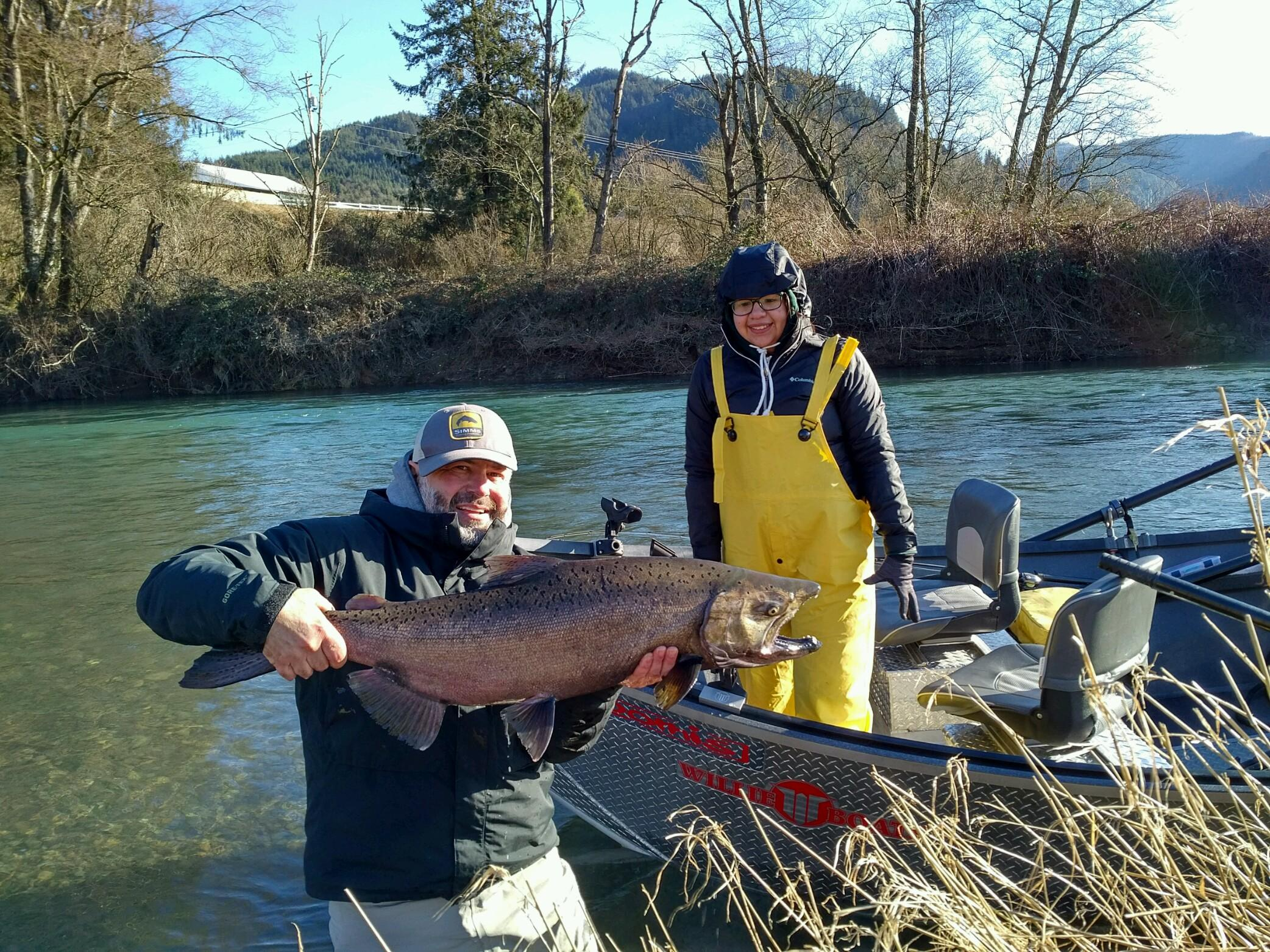 Oregon fishing oregon fishing reports oregon fishing for Wilson river fishing report