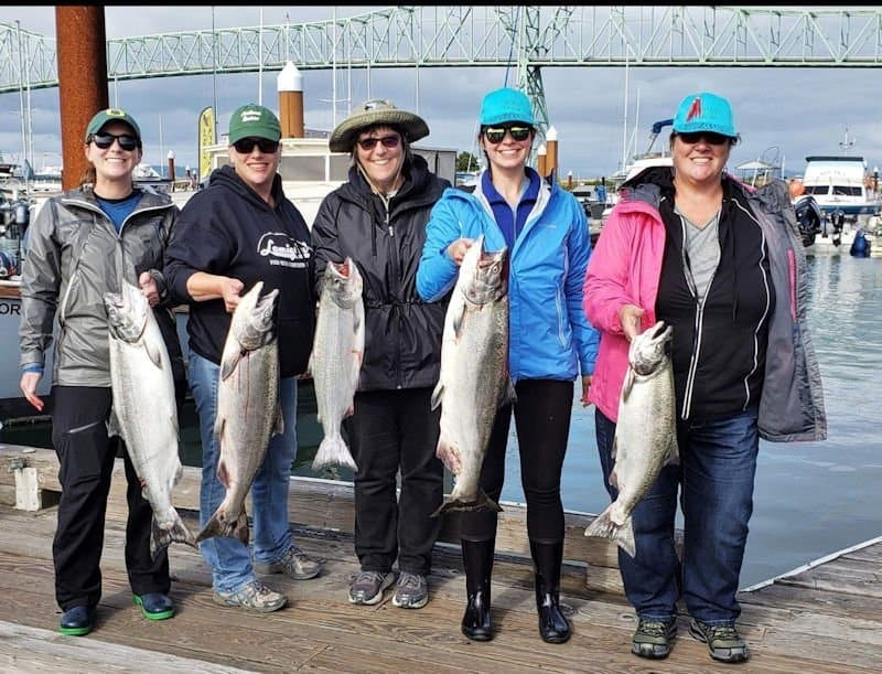 Oregon and SW Washington Fisheries Update August 23rd, 2019