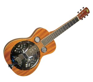 Beginner's Kit for Dobro Guitar - Regal RD-30MS Studio Series Dobro Resonator Guitar