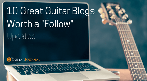 10 Great Guitar Blogs Worth a Follow