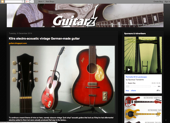 Guitarz.blogspot.com Guitar Blog