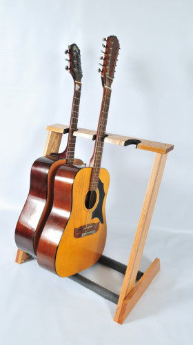 3 space Acoustic guitar stand