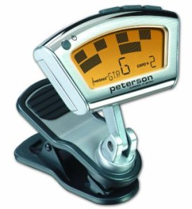 Peterson 403857 StroboClip Clip-On Strobe Tuner