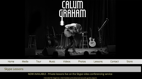 Calum Graham Guitar lessons