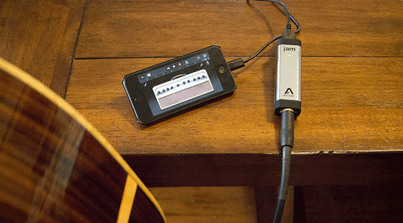 Record Guitar to an iPhone