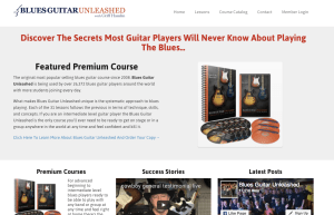 5 Places to Get Online Acoustic Blues Guitar Lessons - Blues Guitar Unleashed