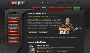 5 Places to Get Online Blues Guitar Lessons - JamPlay 2 Slide