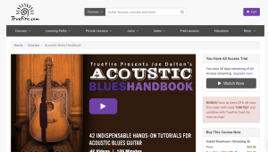 5 Places to Get Online Acoustic Blues Guitar Lessons - TrueFire