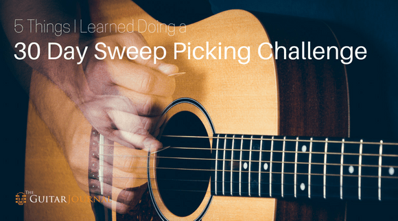 5 Things I Learned Doing a 30 Day Sweep Picking Challenge