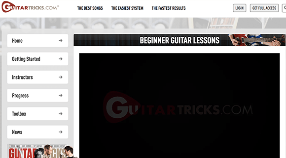 Learn Guitar with GuitarTricks---The-Top-5-Beginner-Guitar-Lessons-Series