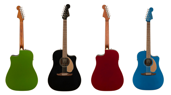 New Cost-Friendly Acoustics From Fender: The California Series
