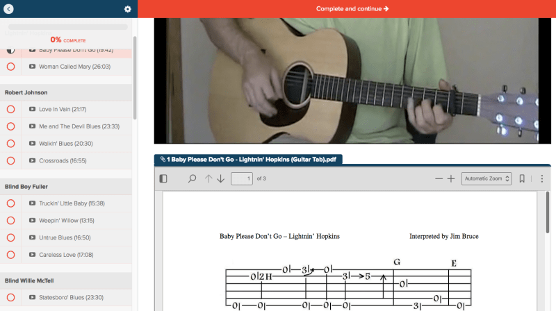 Top 5 Places For Online Acoustic Blues Guitar Lessons The Guitar