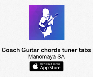 Coach Guitar chords tuner tabs