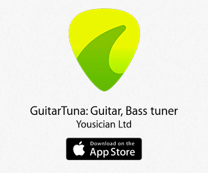 GuitarTuna: Guitar, Bass tuner