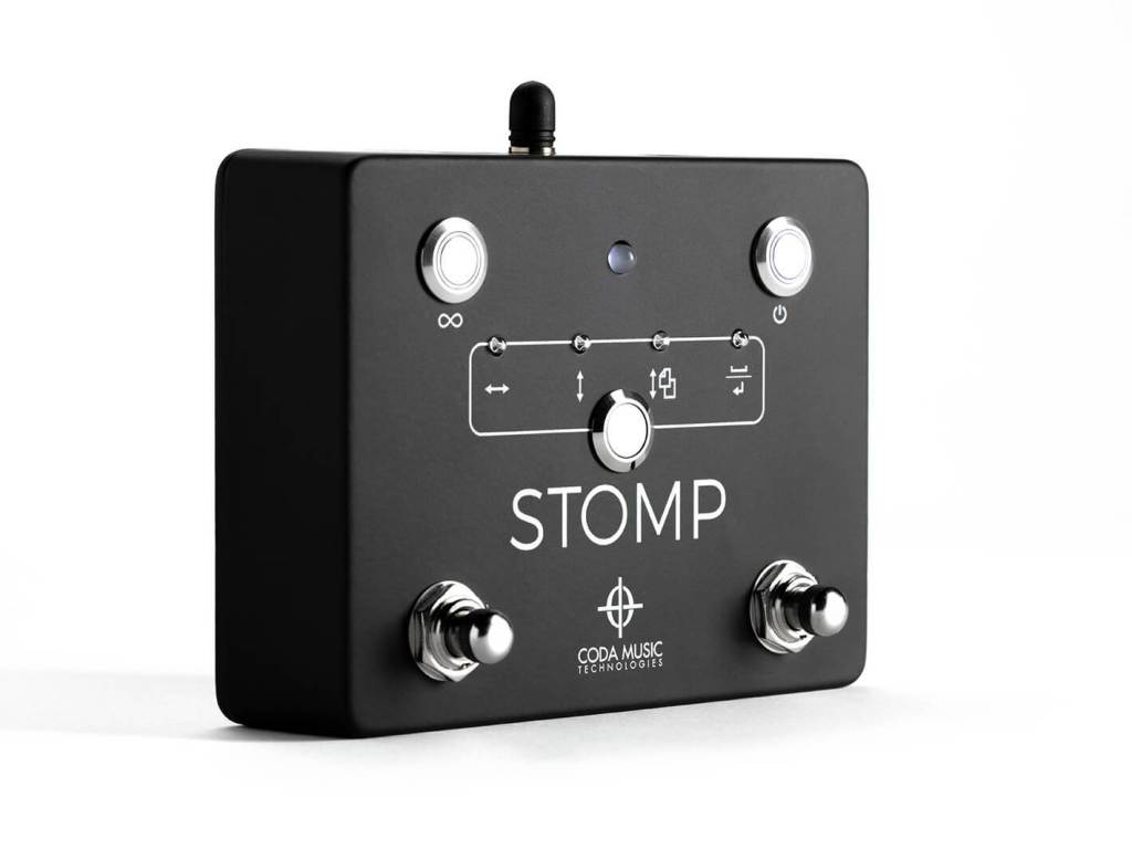 STOMP Bluetooth 4.0 foot switch - main view