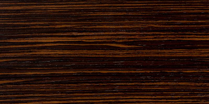 Ebony grain closeup, used as a guitar tonewood