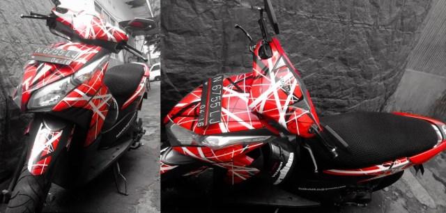 Frankenstrat motorcycle