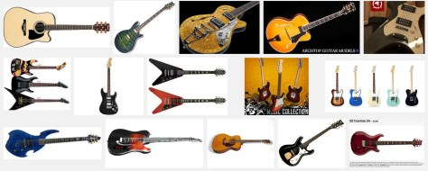 guitars models