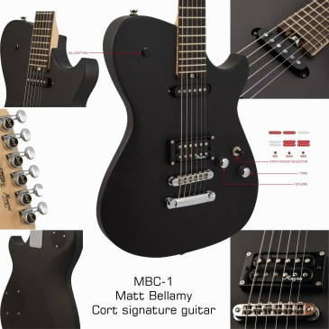 MBC-1 Matt Bellamy Cort signature guitar