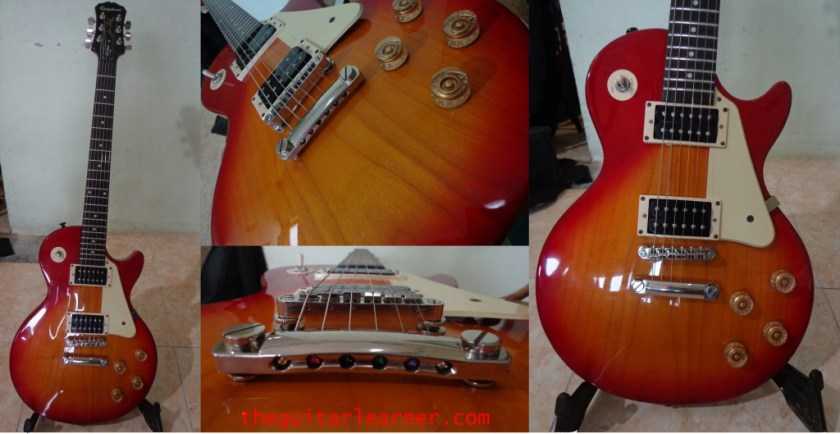 Epiphone Les Paul 100 (body bridge)